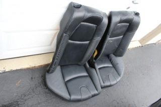 04 08 2007 Mazda RX8 RX 8 Black Leather Bucket Seats Front Rear Nice Set RX 8