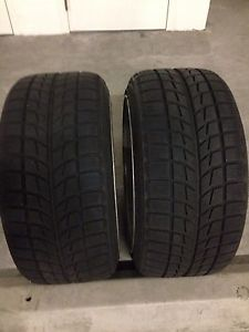Bridgestone Blizzak LM 60 225 265 18 Winter Snow Tire Set