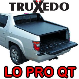 Truxedo Lo Pro Qt Profile Soft Roll Up Tonneau Cover Honda Ridgeline
