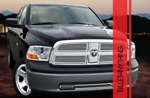 Dodge RAM 1500 Q Style Chrome Billet Grille Grill