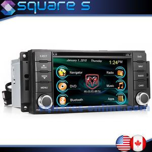 09 10 11 12 Dodge RAM 1500 Truck in Dash DVD GPS Navigation Radio CD Deck USB BT