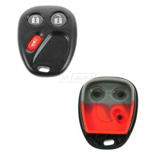 Keyless Entry Remote Fob Case Insert for Chevy GMC Cadillac Saturn