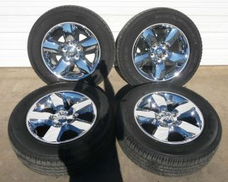 "2014 Dodge RAM 1500 20"" Chrome Clad Factory Wheel Tire 2450"