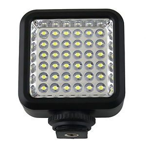 Small W36 36 LED Video Camera Lamp Light for Cannon Nikon Sony Panasonic Dr