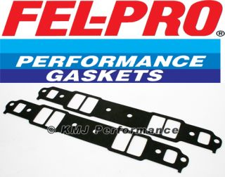 WOW SBC Chevy FEL Pro 1266 Intake Gasket 120 Extra Thick Small Block Chevy 350