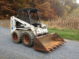 Used Bobcat Skid Steer Loaders