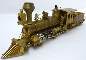 Iron Horse Models On3 Baldwin 4 4 0 Steam Engine Tender Undecorated Brass