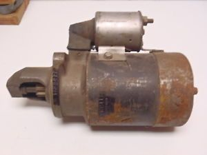 Chrysler DeSoto Dodge Plymouth Starter 1889100 Remanufactured by Chrysler