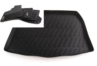 2006 to 2013 Audi A3 Rubber Floor Mats Cargo Tray Factory Accessories