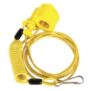 ATV Engine Kill Switch Tether Yellow Kawasaki Brute Force 650