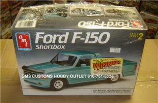 AMT Ertl Plastic Model Kit 6835 Ford F 150 Shortbed Pickup Truck 1 25