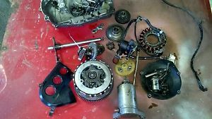01 Yamaha Warrior 350 Starter Clutch Stator YFM Engine Parts Lot