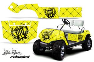 Yamaha Golf Cart Parts Graphic Kit Wrap AMR Racing Decals 95 06 Model Reload Y
