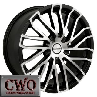 18 Black Touren TR4 Wheels Rims 5x112 5x120 5 Lug Passat Audi Mercedes BMW