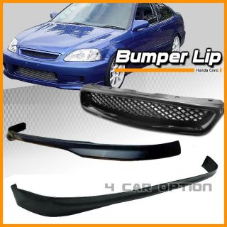 96 97 98 Honda Civic 2 4D Front Rear Bumper Lip Grill