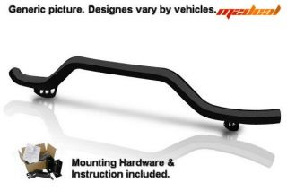Custom Fit 10 12 Chevy Equinox GMC Terrain Black Rear Bumper Bar Single Tube