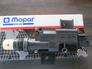 Dodge Plymouth Chrysler Caravan Town Country PT Cruiser Rear Lock Actuator