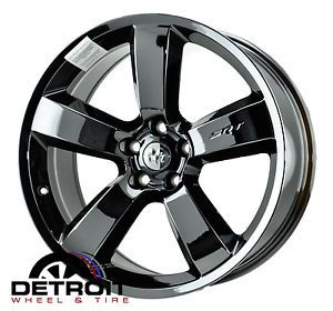 "Dodge Charger SRT8 20"" Black Chrome Wheels Rims 2262 X4"