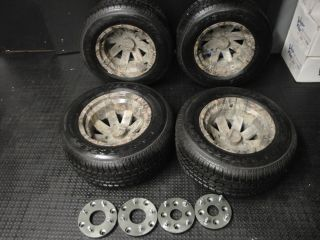 Yamaha YFZ 450 Warrior Raptor Banshee ATV Wheels Conversion Rims Tires Wheel Rim