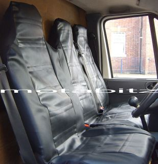 Van Seat Covers Leather Look Transit Sprinter Etc