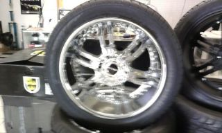 "22"" Elite Carnal Wheel Tire Tis Lexani FOOSE Dub 24"