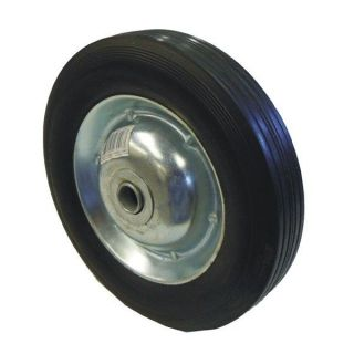 "8"" inch Replacement Solid Hard Rubber Tire Wheel and Rim for Dolly Hand Cart"