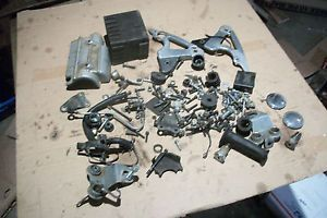 Yamaha XS750 XS 750 Special 1979 Misc Parts Lot Bolts Screws Engine Motor Mounts