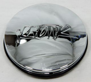 Kaotik Wheels Chrome Center Cap 1000 44 60mm