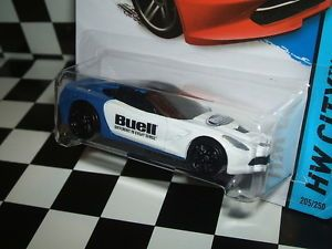 "Hot Wheels 2014 Chevy Corvette Stingray ""Buell Motorcycle"" Custom"