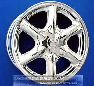 Cadillac Escalade GMC Yukon Tahoe Chevy Suburban 16 inch Chrome Wheels Rims 16""