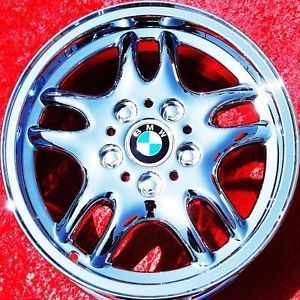 "Set of 16"" BMW 318i 325i 328i ""Style 30"" Chrome Wheels Rims Exchange 59228"