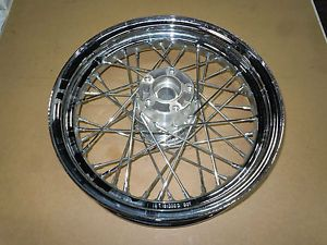 "Harley Davidson Wheel HD Rear Wheel 16"" x 3"" 40 Spoke Chrome Rim 41052 05 2270"