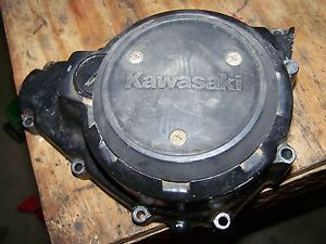Kawasaki KLF300 Klf 300 Bayou Engine Stator Generator Alternator Cover 86 87