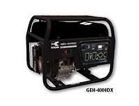 Koshin Geh 4000DX Generator Gas Honda Engine