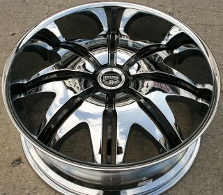 Dub Doggystyle S142 24 x 9 5 Chrome Rims Wheels Hummer H2 00 10 8H 15