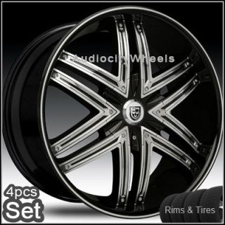"24"" Wheels and Tires for Land Range Rover Lexani Rims"