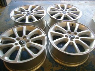 "18"" Ford Edge Factory Alloys Wheels Silver Used Set of 4 Mustang Fusion"
