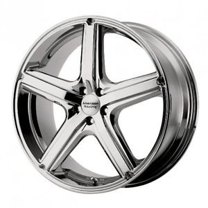 20 inch Maverick Chrome Wheels Rims 5x100 Legacy Baja Sport Forester Outback GTI