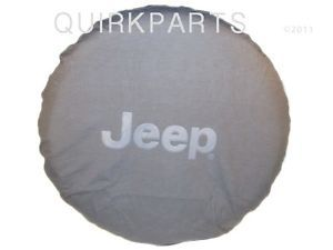 2013 Jeep Wrangler Tire Cover Black w Logo Mopar Genuine Brand New