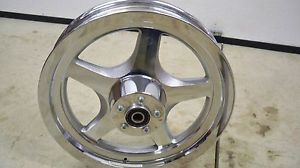 "Harley Chrome Thunderstar 16"" Front Wheel Mag Softail TC88 Fatboy Heritage"