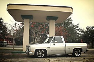 1986 Chevy C10 Silverado 1500 Truck Short Bed 4 6 Drop 350 700R4