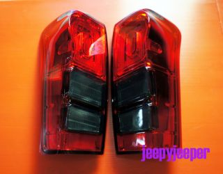 LED Tail Light Lamp Eagle Eye Isuzu All New Dmax D Max Smoke Red 2012 2013