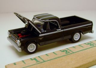 Greenlight 1966 Dodge D 100 CSS HPP Classic Pickup Truck Rubber Tire Limited