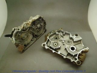 03 Can Am Bombardier Outlander 400 Motor Engine Cases Halves Pair