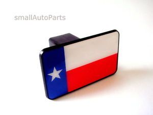 "Texas Flag Tow Hitch Cover Car Truck SUV Trailer 2"" Receiver Plug Cap"