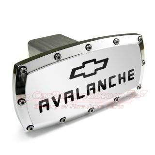 Chevrolet Avalanche Engraved Billet Aluminum Tow Hitch Cover Plug Free Gift