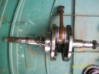 1998 Yamaha Warrior 350 Engine Crank