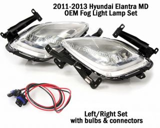 2011 2012 2013 Hyundai Elantra MD Avante Fog Light Lamp Wiring Harness