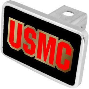 New USMC Military Hitch Cover Plug