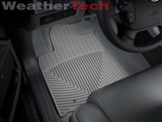 Weathertech® All Weather Floor Mats Toyota Tundra Double Cab 2007 2011 Grey